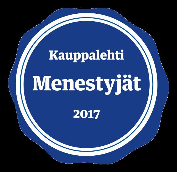 Novum Oy Kauppalehti Menestyjät 2017